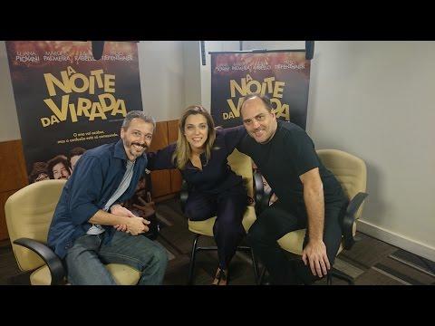 A Noite da Virada: Entrevista Júlia Rabello e Paulo Tiefenthaler