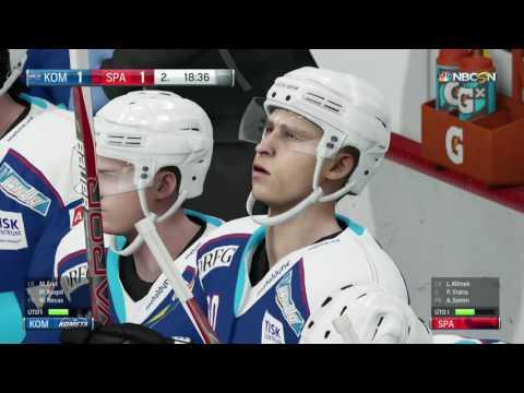 NHL 17 | HC Sparta Praha-HC Kometa Brno | PART 9 | XBOX ONE | CZ