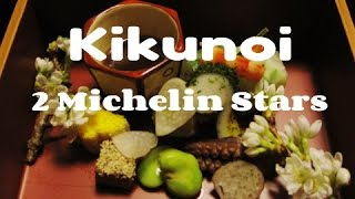 The Most Dazzling 2-Star-Michelin Kaiseki Restaurant in Tokyo - Kikunoi 菊乃井