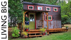 Adorable Tiny House Built By Love, Family and Community