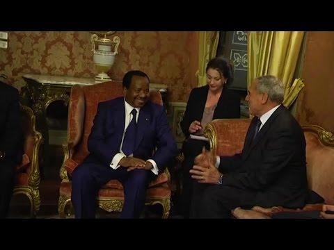 Cameroun, Visite du Président Paul Biya en Italie / Une visite aux multiples enjeux