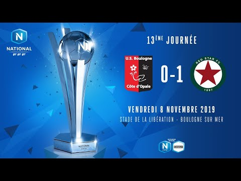 J13 | US Boulogne CO – Red Star FC (0-1), le résumé | National FFF 2019-2020