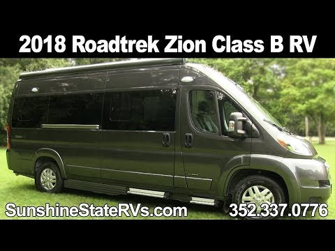 New 2018 Roadtrek Zion Class B RV - Technology Rich Infinity Package