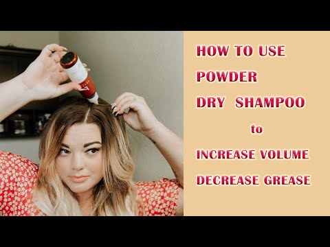 Organic Dry Shampoo Tutorial | Secrets to Add Volume to Your Hair