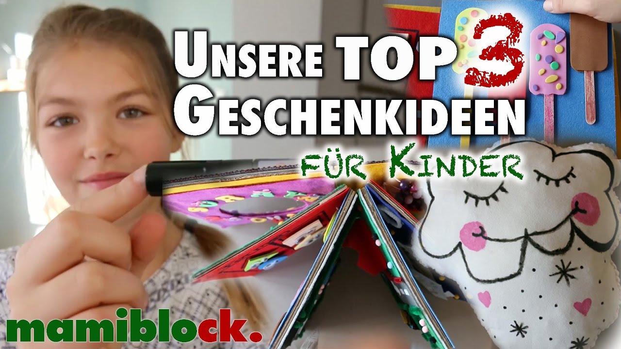 Unsere TOP 3 Weihnachtsgeschenke für Kinder | mamiblock - YouTube