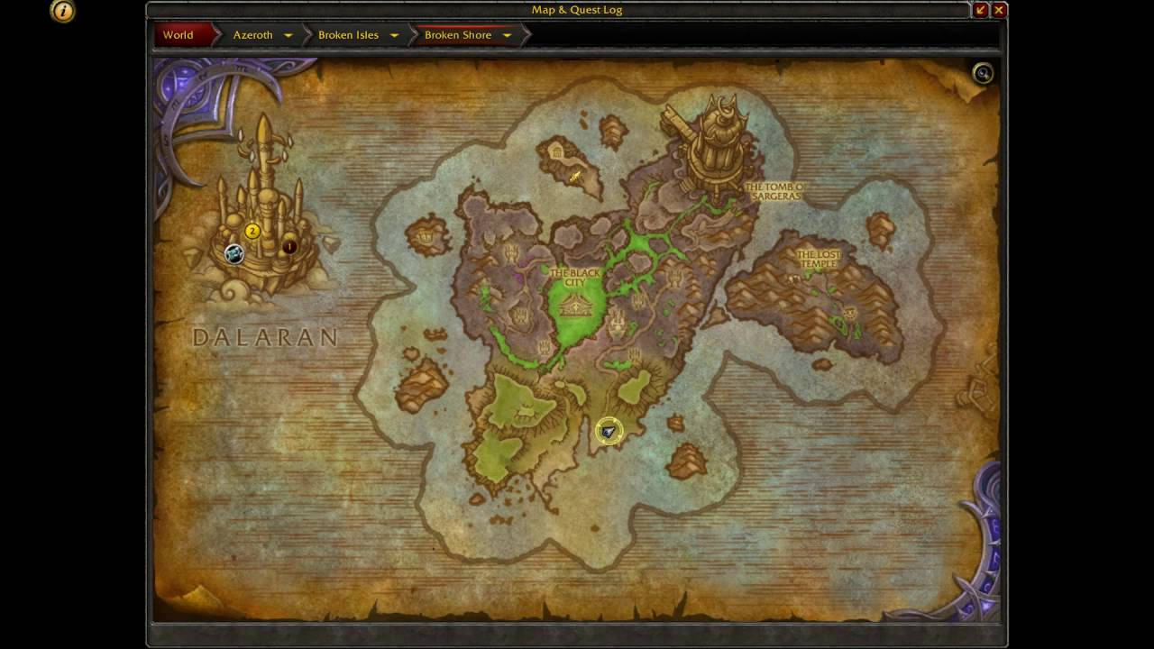 Wow Legion Location Of Drak Thul And The Musty Cave