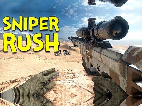 SNIPER RUSH! - Battlefield 4 (War Stories)