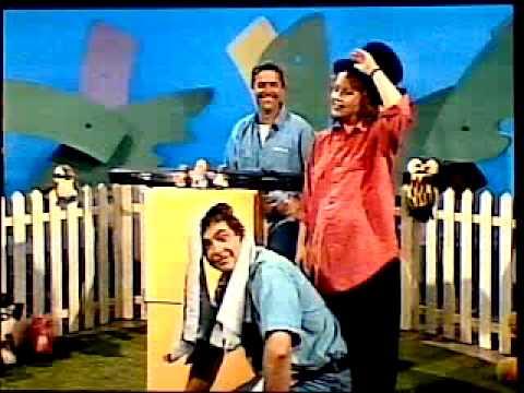 Play School (AUS), 1992, with Noni & Philip