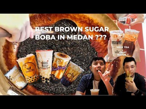 Best Brown Sugar Boba Milk di Medan!