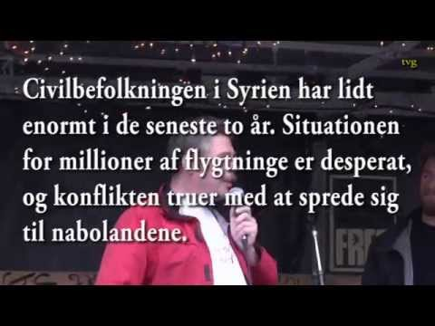 Syrien har ikke brug for mere krig! Stop Obamas, Hollandes og Thorning-Schmidts krigs terror