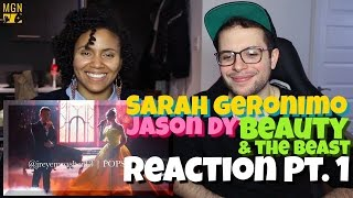 Video Sarah Geronimo & Jason Dy - Beauty & The Beast Reaction Pt.1 download MP3, 3GP, MP4, WEBM, AVI, FLV Agustus 2018
