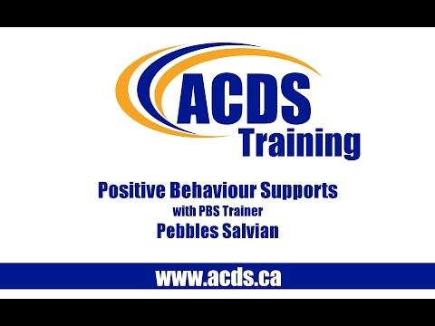 ACDS Positive Behaviour Supports (PBS) Training