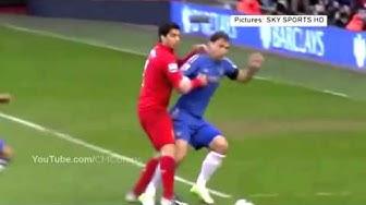 Suarez alle beiss Attacken