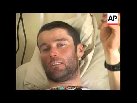 Italian climbers plucked from the mountain at hospital; Army spokesman