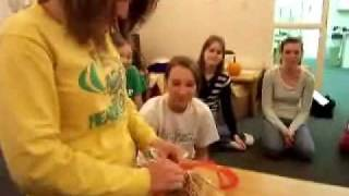 GIANT Fancy Fortune Cookie - Jewell Sutton - College Girls Floor Gone Fortune Cookie Crazy