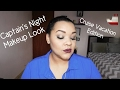 Captain's Night Halo Makeup Look | NICOLE MOJICA
