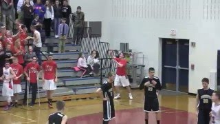 Hoops Highlight - Frontier Regional School Boys Basketball  VS  Pioneer 3X OT