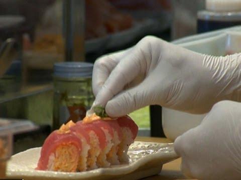 Sushi chefs battle new law on food handling