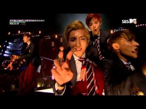 EXO 365 130927 SBS MTV World Stage Live in Malaysia