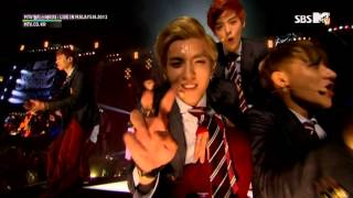Video EXO 365 130927 SBS MTV World Stage Live in Malaysia download MP3, 3GP, MP4, WEBM, AVI, FLV April 2018