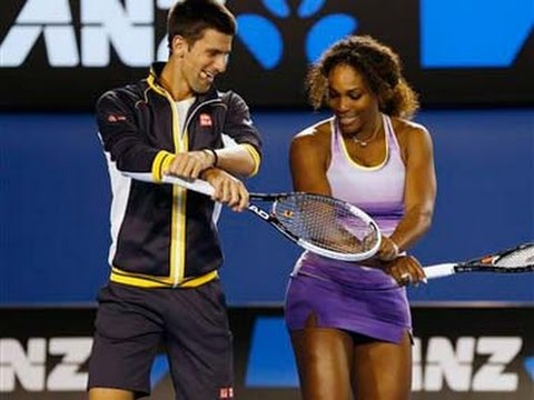 Novak Djokovic - Serena Williams - Ana Ivanovic Dance Gangnam Style