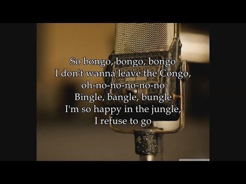 Civilization (Bongo Bongo Bongo)- Danny Kaye And The Andrews Sisters - Lyrics - Fallout 4