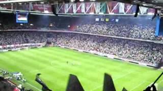 Ajax - Marseille (Sfeer Andre Rieu)