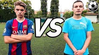 YOUTUBER FOTBAL CHALLENGES VS ALEX ALVAREZ