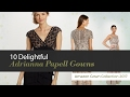 10 Delightful Adrianna Papell Gowns Amazon Gown Collection 2017