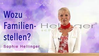 Sophie Hellinger - Familienstellen erklärt