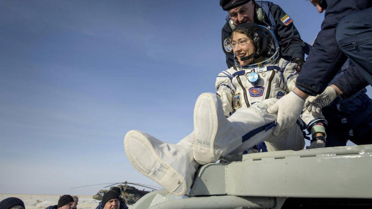 Hear from Record-Breaking NASA Astronaut Christina Koch thumbnail