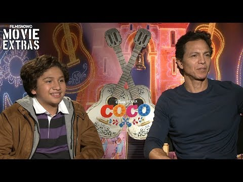 Coco (2017) Benjamin Bratt & Anthony Gonzalez talk about their experience making the movie