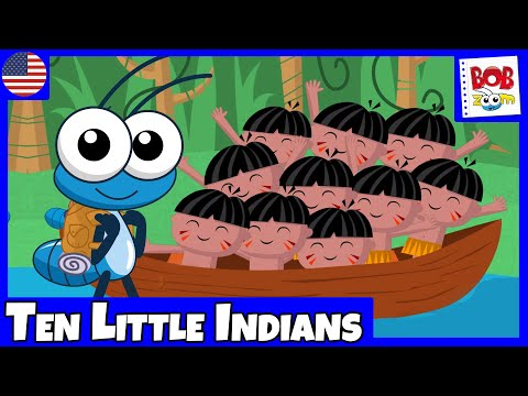 Ten Little Indians - Bob Zoom