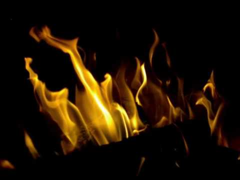 Acoustic Guitar Campfire Songs with Fire Crackling Sounds and Visuals | Night Sounds