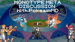 Monotype Meta Discussion Isle of Armour DLC - With PokeaimMD!