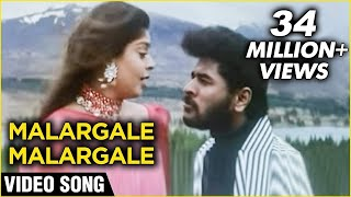 Malargale Malargale Video Song | Love Birds |  Prabhu Deva, Nagma | A. R. Rahman | Romantic Hits
