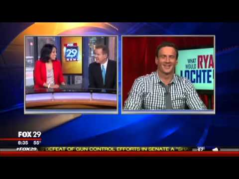 Ryan Lochte Interview Makes Anchor Cry!