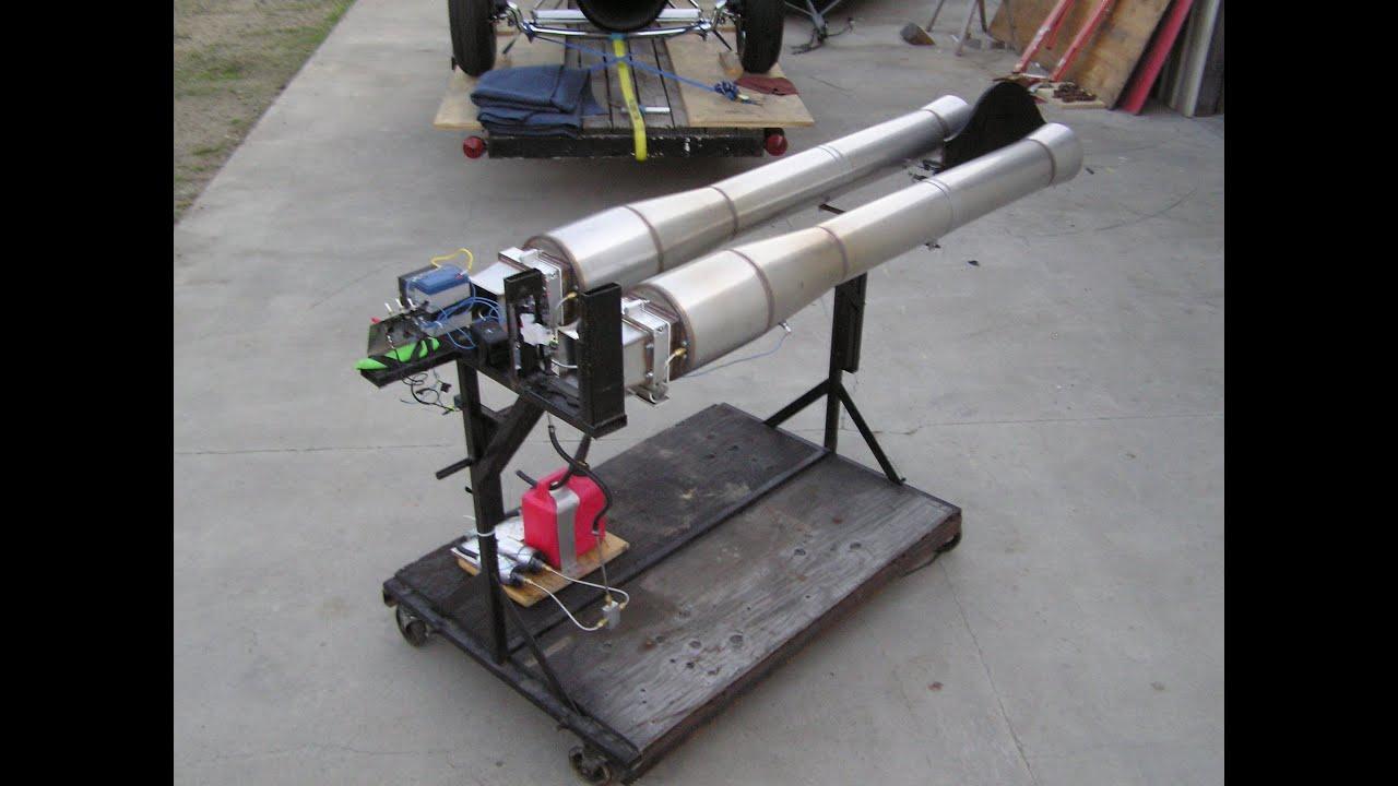 RocketMan: Jet engine pulsejet engine 100lbs thrust