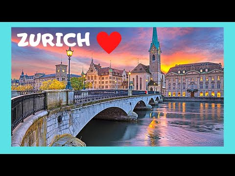 ZÜRICH, what to see in the historic OLD CITY (ALTSTADT), top attractions (SWITZERLAND)