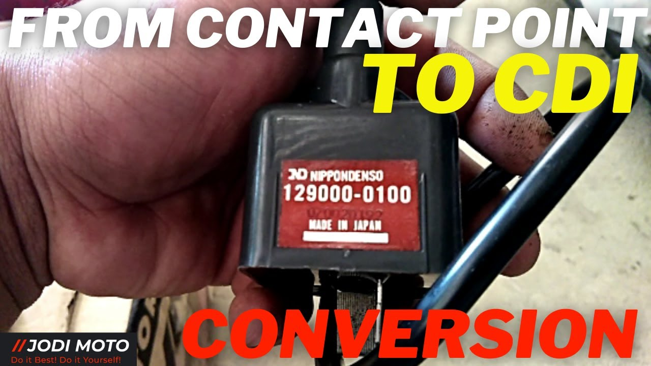 How To Convert Honda Tmx 155 Contact Point Into Cdi