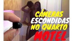 CÂMERA ESCONDIDA NO QUARTO DE HOTEL/MOTEL
