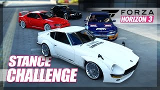 Forza Horizon 3 - Best Stanced Car Challenge! (Build & Cinematic)