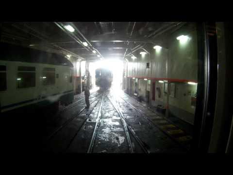 Messina straits train ferry