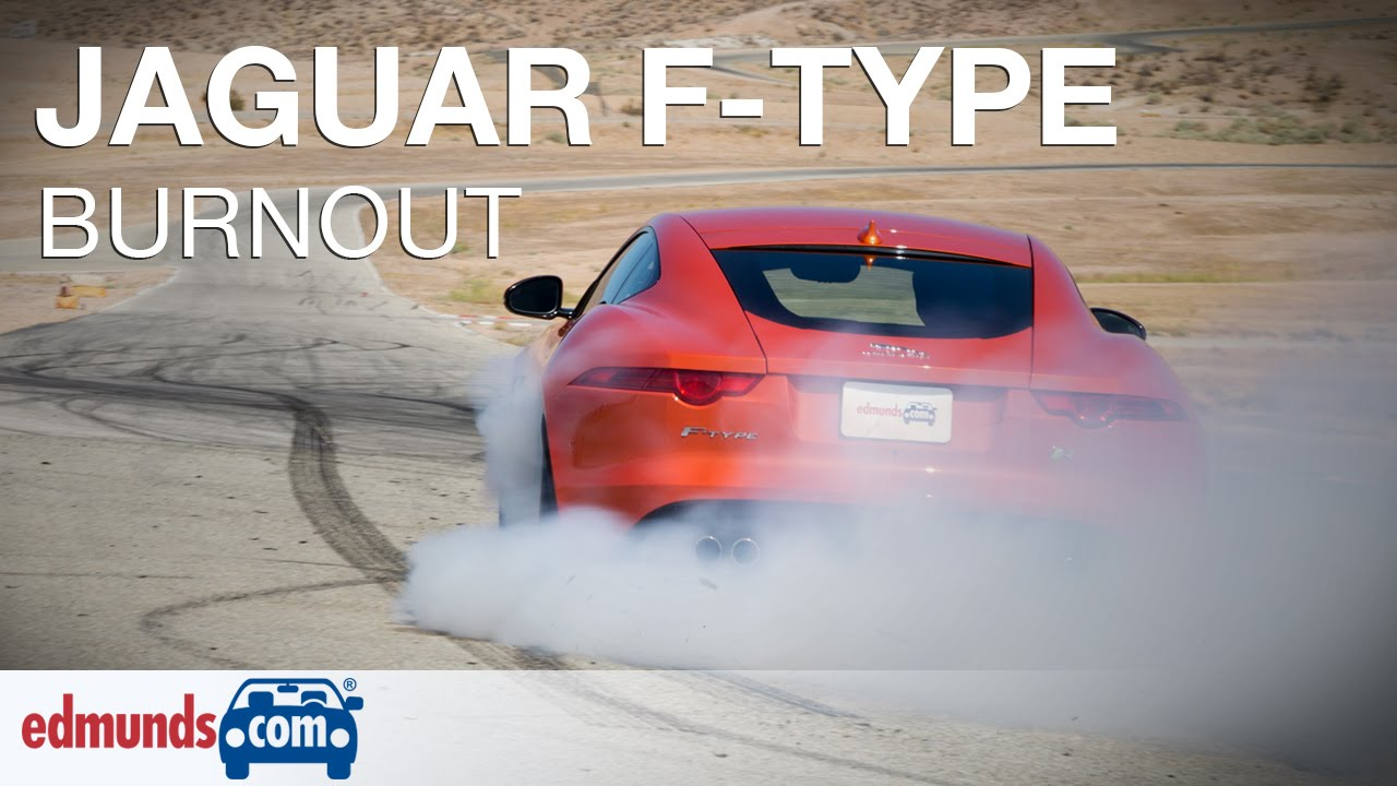 Excellent 2015 Jaguar FType R Burnout  Equal Parts Smoke And Noise