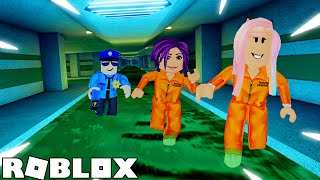 PRISON BREAK STORY! 👮 / ROBLOX