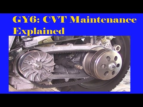 GY6: CVT Maintenance Explained