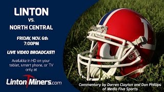 linton miners vs north central nov 6 2015 football sectional 48 championship