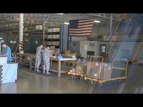 Air Force Traffic Management - The Inbound Cargo Process