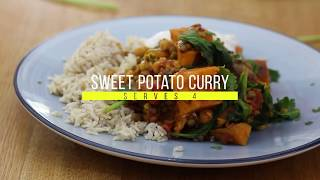 Sweet potato curry recipe - simple, tasty and full of nutrition | EBM