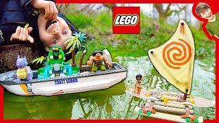 Lego City Coast Guard Pokemon Moana Rescue!
